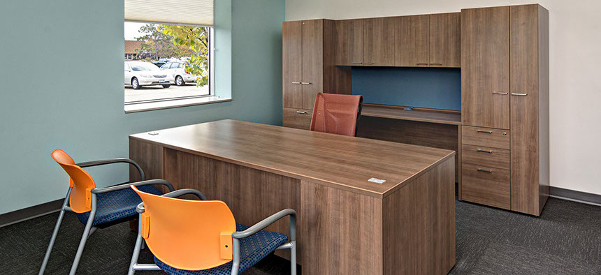 Perfect Needing A New Space For Their Expanding Business In Minnesota, ABM  Presented Bertelson One Source Design Team With The Challenge Of Creating A  Fun And ...
